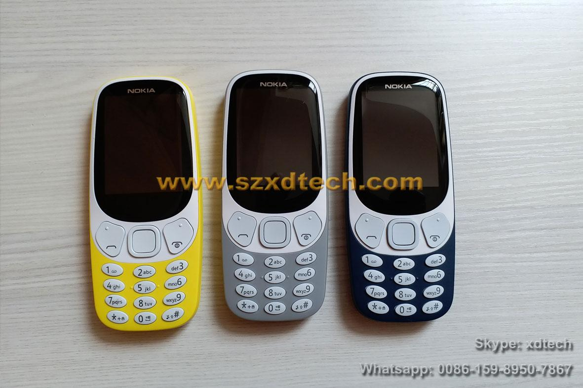 Cheap Nokia 3310 Replica Nokia Mobile Phones Good Battery Easy-taking Phones 9