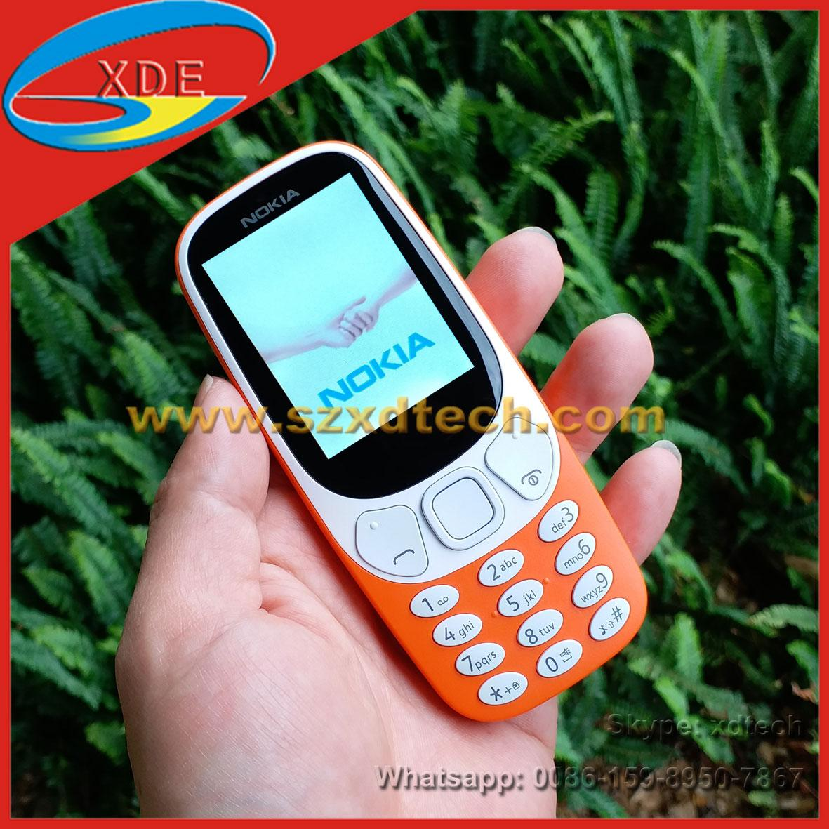 Cheap Nokia 3310 Replica Nokia Mobile Phones Good Battery Easy-taking Phones 1