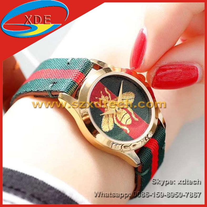 Wholesale Gucci Watches Bee Style Round or Square Dial Ladies Watch Best Gift