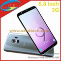 New Coming Samsung Galaxy S9 Edge Replica S9 Real 5.8 inch Full Screen 3G