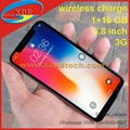 Real Full Screen 1:1 iPhone X 5.8 inch iPhone X Wireless Charge 3G