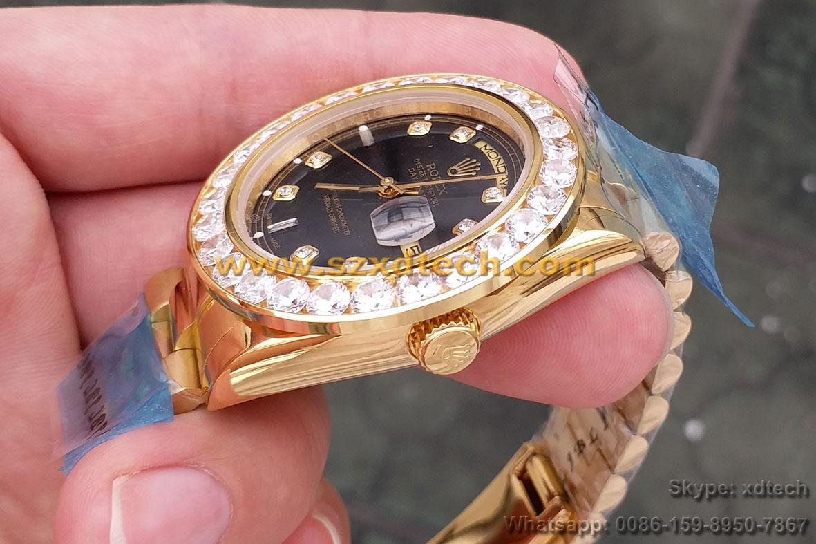 Big Diamond Rolex Watches Rolex Wrist Luxury Watches 4