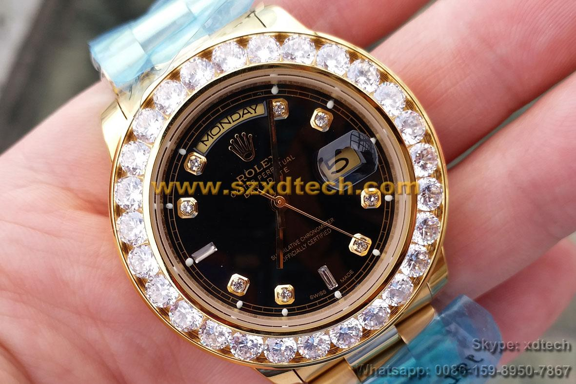 Big Diamond Rolex Watches Rolex Wrist Luxury Watches 3