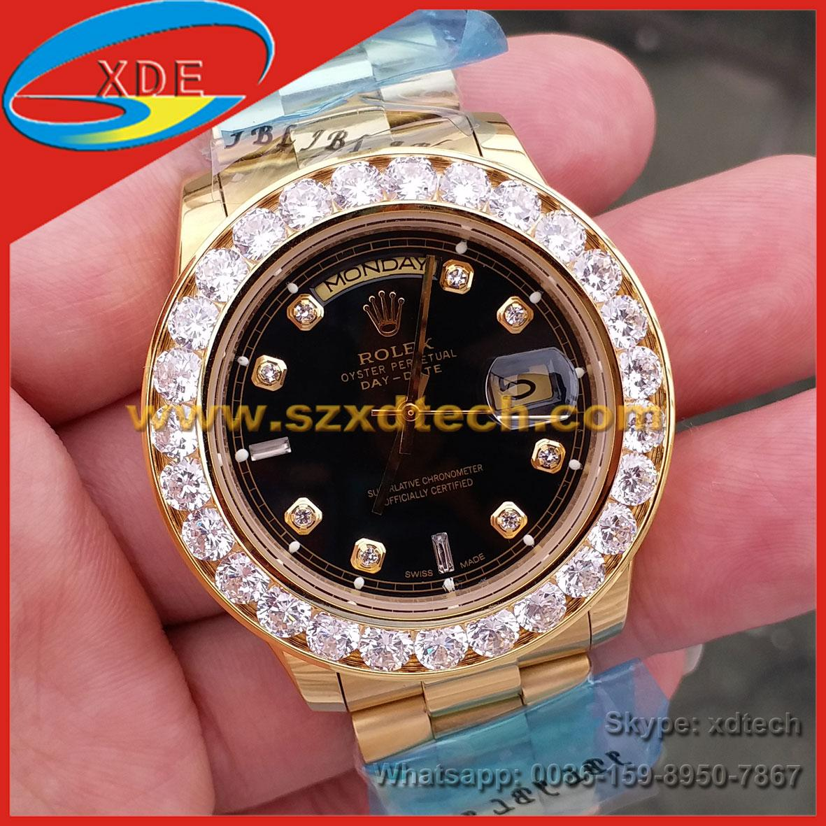 Big Diamond Rolex Watches Rolex Wrist Luxury Watches 1
