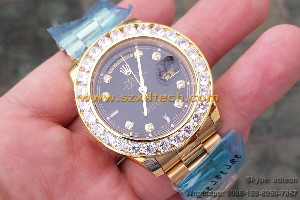Big Diamond Rolex Watches Rolex Wrist Luxury Watches 2