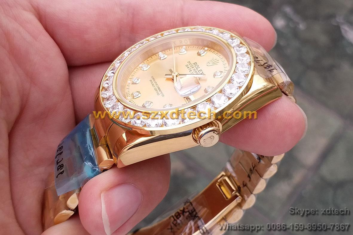 Big Diamond Rolex Watches Rolex Wrist Luxury Watches 10