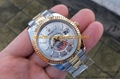Wholesale Rolex Watches Gold Color Luxury Design Day Date Design With Diamond