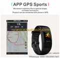 Sports Bracelet Watch Cell Phone Waterproof Anti-lost Camera Remote Control