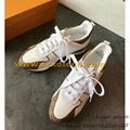 Louis Vuitton RUN AWAY SNEAKER Running Shoes 1A3CWK LV Women's Shoes White Shoes