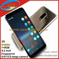 Best Seller Smart Phones Real Fingerprint Real 3G 1+8GB 6.2 Inch 1:1 Copy