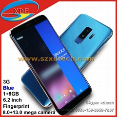 Quality Samsung S9 Plus S9+ Android Phones Good Camera Fast Screen Copy S9 Plus