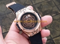 HUBLOT Watches Cheap Watches Cool Watches Men's Watches Leather Belt