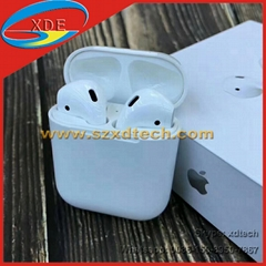 Best Quality Wireless Apple Airpods with Charging Case Apple Earphones 1:1 Copy