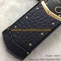 New Vertu Signature S Real Crocodile Leather Luxury Cell Phones Vertu Phones