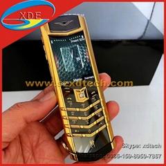 New Coming Vertu Signature S Clone Dragon Signature Cool and Luxury Vertu Phones