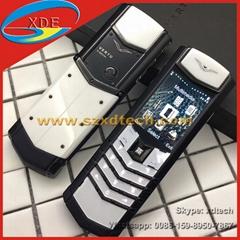 Cool Vertu Signature S White and Black Color Replica Vertu Mobile Phones