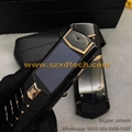 Cool Vertu Signature S Clone Vertu Pure Black Stainless Steel