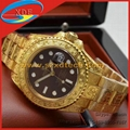 Luxury Gold Rolex Wrist Diamond Tattoo Design Watches Rolex Yacht-Master Watches