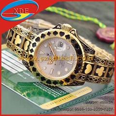 Wholesale Rolex Watches Poker Style Luxury Golden Cool Design Rolex Submarine