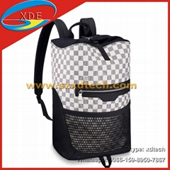 Replica Louis Vuitton Matchpoint Backpacks LV Backpacks Both Colors Avaliable