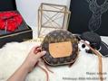 Clone Louis Vuitton PETITE BOITE CHAPEAU Monogram LV Cross Bags LV Handbags