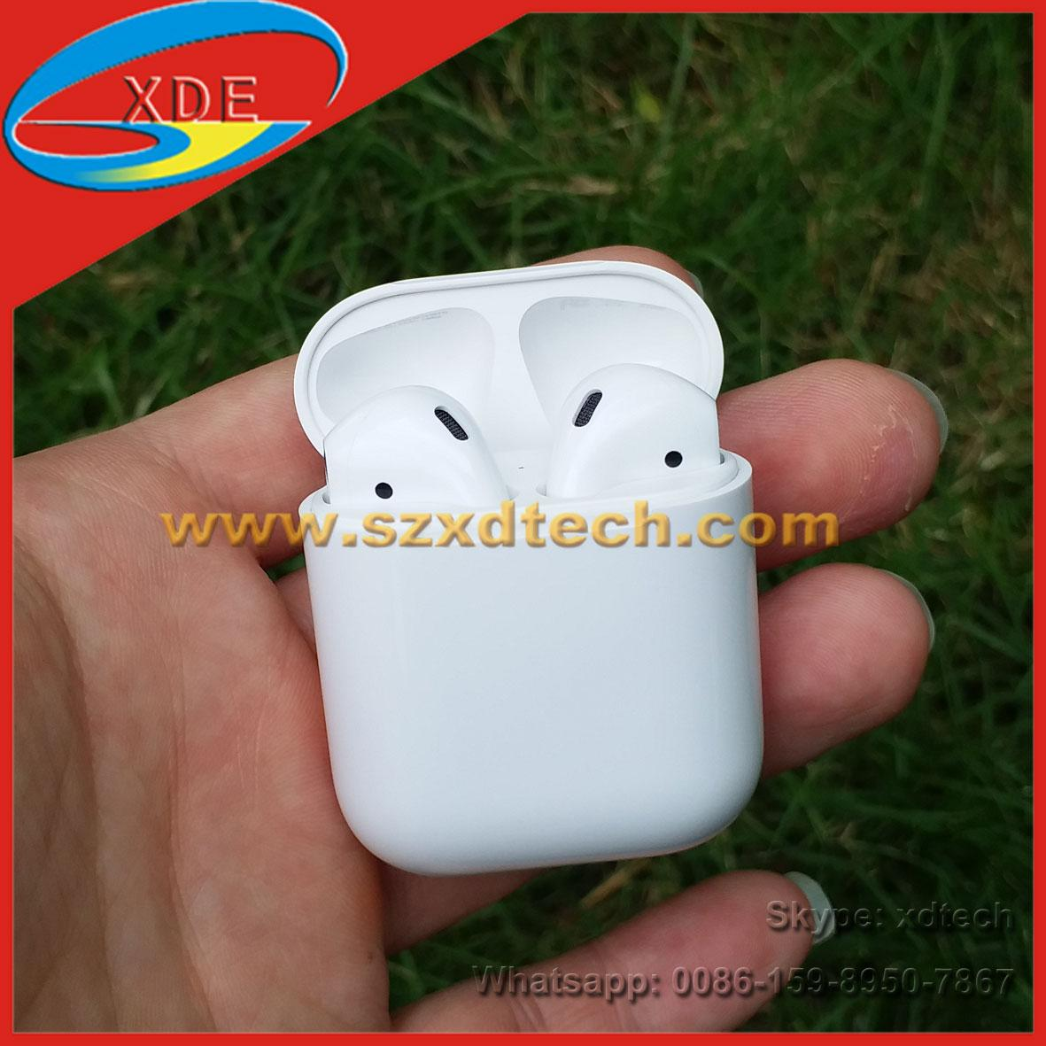 Best Quality Apple Airpod 2 Clone 1:1 Quality 1:1 Size Wireless Charger