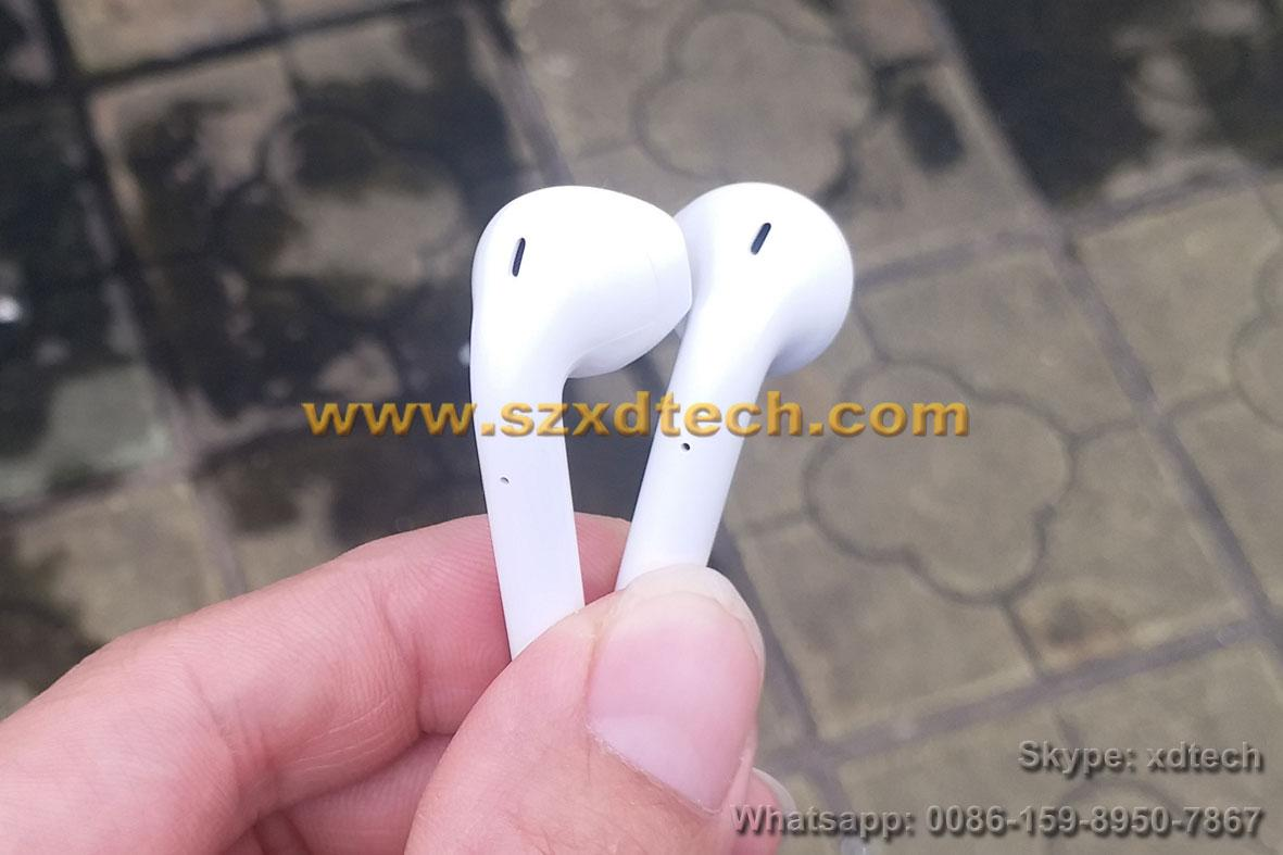 Cheap and Good Clone Apple Airpod Touch Control Pop-up Windows Wireless Earphone 9
