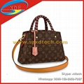 Replica Louis Vuitton Bond Street BB Damier Ebene N41071 LV Top Handles Lady Bag