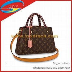 Replica Louis Vuitton Bond Street BB Damier Ebene N41071 LV Top Handles Lady Bag