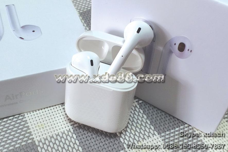 Free Shipping Cheapest Apple Airpod 2 1:1 Copy Airpods Wireless Headphones 3