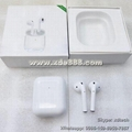 Free Shipping Cheapest Airpod 2 Latest Apple Airpod Real Wireless Charge