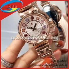 Colorful               Wrist Diamond Watches Lady Wrist