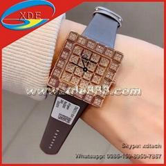 Chopard Watches Fashion Lady Watches Diamond Watches Leather Belt