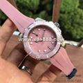 Pink Rolex Submarine Clone Lady Watches Fashion Watches