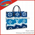 Fashion Louis Vuitton Handbags LV ESCALE ONTHEGO Lady Bag Top Handles