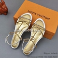 Louis Vuitton Sandals Flat Sandals Women's Sandals