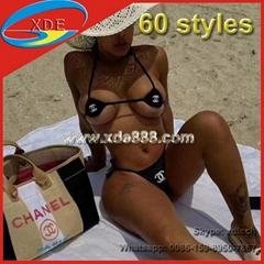 Brand Bikini 1:1 Clone Women Swimwear Brand Swimsuit Sexy Swimming Suit
