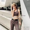 Wholesale Big Brand Sports Wear Designer Sports Suits Fendi GYM Suits