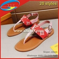 Louis Vuitton Sandals Flat Sandals Louis Vuitton Escale Palma LV Slides
