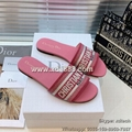 Replica Dior Slippers Dway Slide Lady Sandal Dior Sandals Dior Shoes Women Shoes
