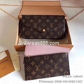 AAAAA Quality Copy Louis Vuitton FÉLICIE POCHETTE Damier Monogram Purse Mini Bag