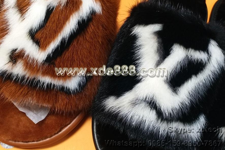 Mink Fur Slides               Slippers               Shoes  6