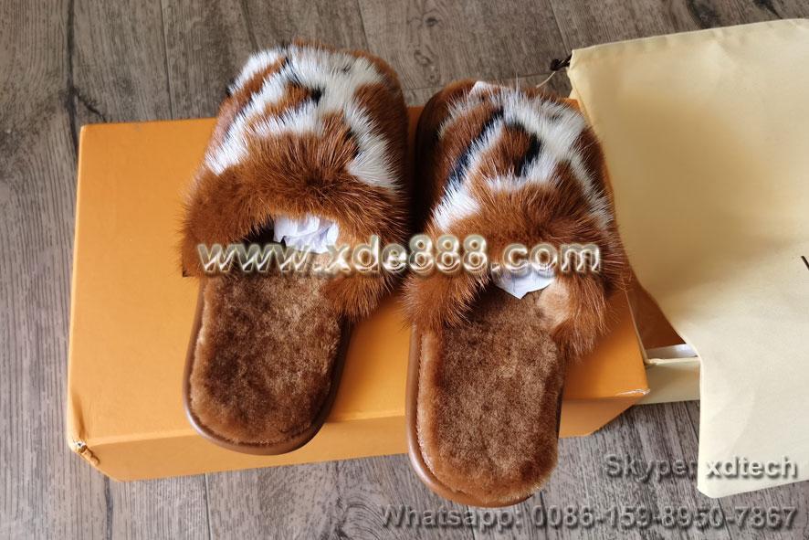 Mink Fur Slides               Slippers               Shoes  2
