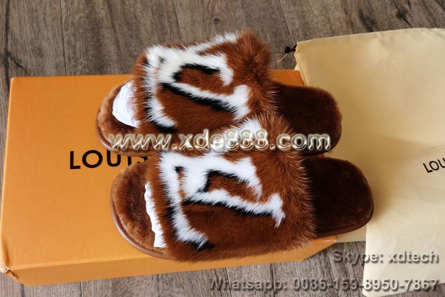Mink Fur Slides               Slippers               Shoes  3