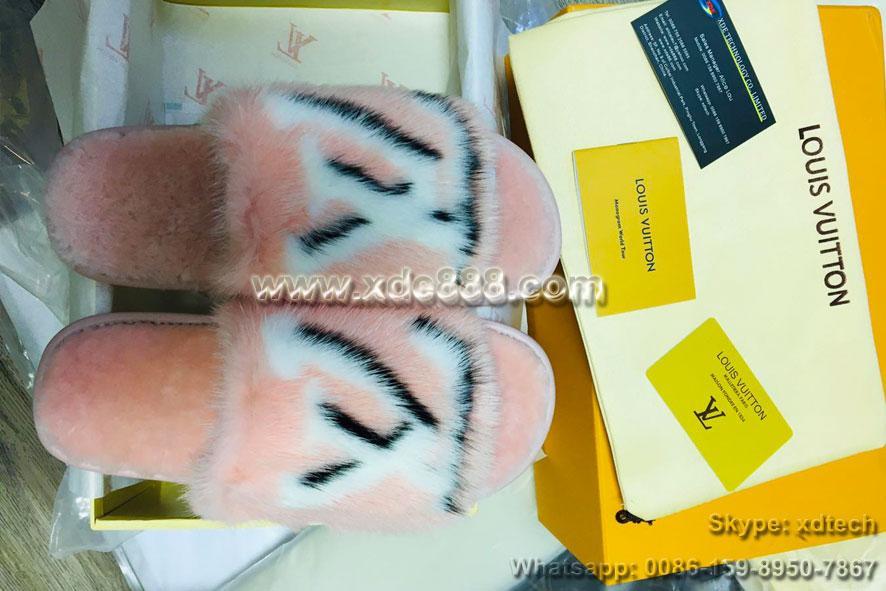 Mink Fur Slides               Slippers               Shoes  8