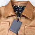 Quality Louis Vuitton Jacket Leather Jackets Louis Vuitton Leather Vest Fur Coat