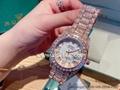 Shinning Color Diamond Rolex Watches Rolex Wrist Luxury Watches