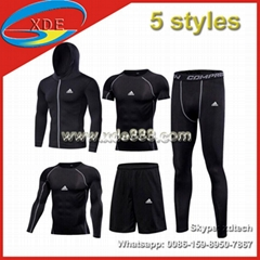 High Quality Men GYM Clothes Fitness Wear        Sports Wear GYM Suits