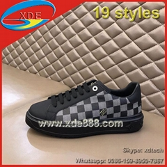 New               Sneakers Monogram Louis Flat Shoes Men Shoes