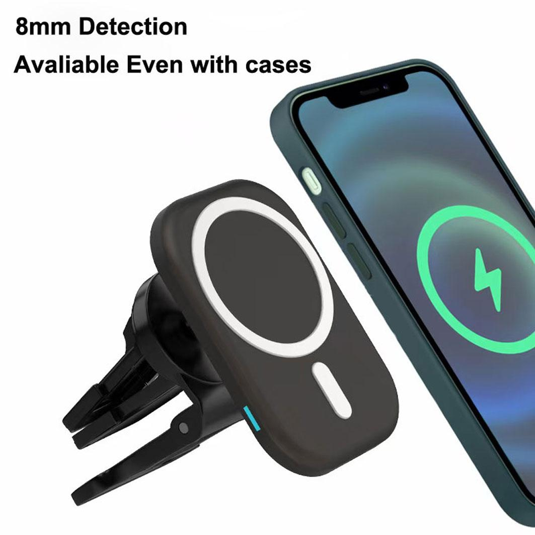 Wholesale Car Chargers Wireless Car Charger Strong Clamps High Detection 4